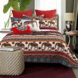 Kandula Desert Throw Pillow & Quilt Set