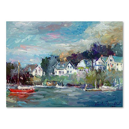 Trademark Fine Art Dock Canvas Wall Art
