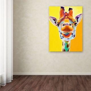 Trademark Fine Art Giraffe No. 3 Canvas Wall Art