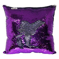 Bwood Mermaid Sequin Throw Pillow