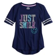 Girls 7-16 SO® Varsity Graphic Tee