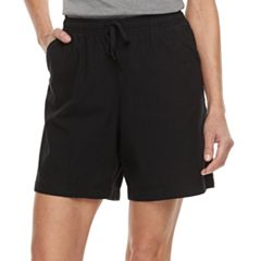 Women's Gloria Vanderbilt Lucy Sheeting Drawstring Shorts