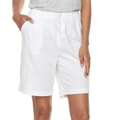 Women's Gloria Vanderbilt Jamy Sheeting Drawstring Shorts
