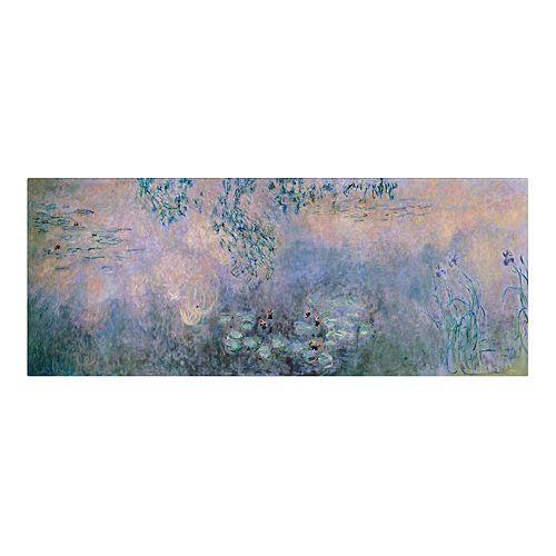 Trademark Fine Art Water Lilies 1914-22 Canvas Wall Art