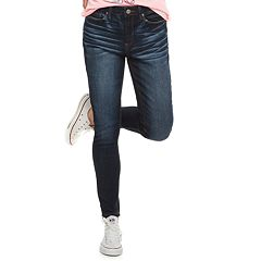 Juniors' Mudd® Mid-Rise Ankle Jeggings