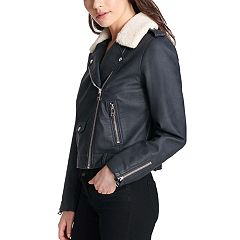 Women's Levi's® Faux-Leather Moto Jacket