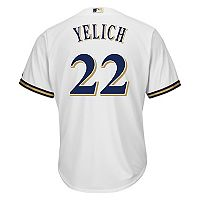 Men's Majestic Milwaukee Brewers Christian Yelich Replica Jersey