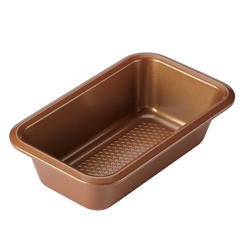 """Ayesha Curry Bakeware 9"""" x 5"""" Copper Loaf Pan"""
