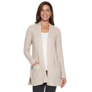 Women's Napa Vally Cozy Ribbed Cardigan Sweater