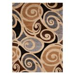 United Weavers Contours Frilly Scroll Rug
