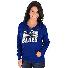 Women's Majestic St. Louis Blues Backcheck Hoodie