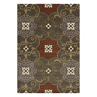 United Weavers Contours Julep Medallion Rug