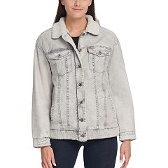 Women's Levi's® Sherpa-Lined Denim Trucker Jacket