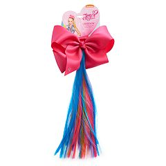 Girls 4-16 JoJo Siwa Large Bow & Faux-Hair Ponytail