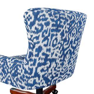 Linon Corrine Adjustable Office Desk Chair