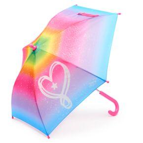 Girls 4-16 JoJo Siwa Rainbow Glitter Heart Umbrella