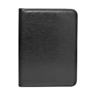 """Natico 14"""" x 10.5"""" Black Zippered Portfolio"""