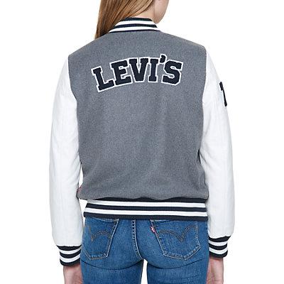 Women's Levi's® Letterman Varsity Jacket
