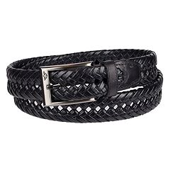 Men's Dockers®  Leather Braided Dress Belt