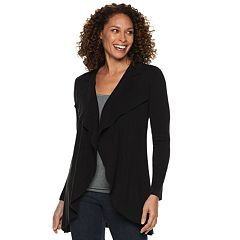 Women's Napa Valley Draped Open-Front Cardigan