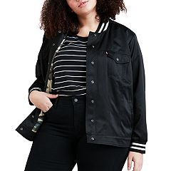 Plus Size Levi's Varsity Trucker Jacket