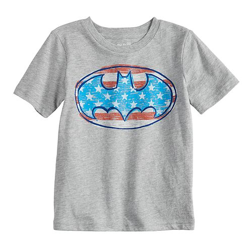 Toddler Boy Jumping Beans® DC Comics Batman Logo Patriotic Graphic Tee