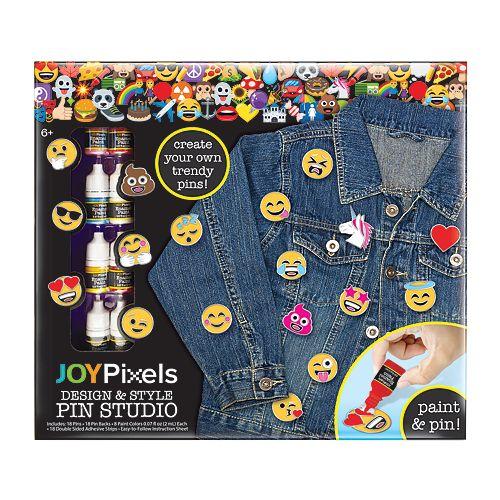 Joy Pixels Emoji DIY Pin Set