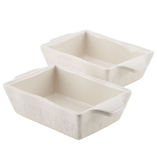 Ayesha Curry Home Collection 2-piece Stoneware Au Gratin Set
