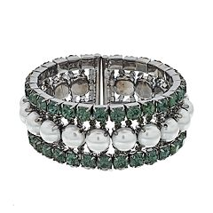 Simply Vera Vera Wang Pave Cuff Bracelet