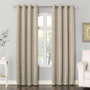 Sun Zero 2-pack Eros Geometric Woven Blackout Window Curtain