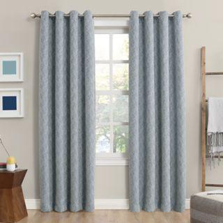 Sun Zero 2-pack Rey Blackout Window Curtain