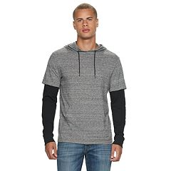 Men's Urban Pipeline™ Mock-Layered Hoodie