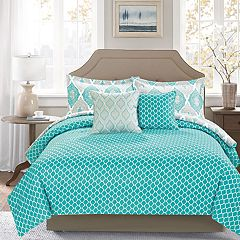 Journee Home Printed 5-piece Comforter Set