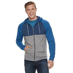 Men's Urban Pipeline® Full-Zip Colorblock Hoodie