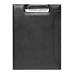 Natico Black Clipboard Portfolio
