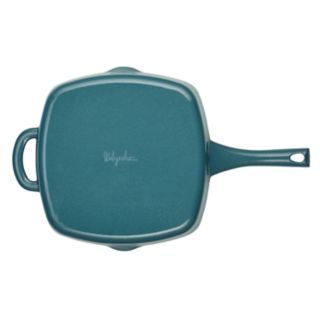 Ayesha Curry 10-inch Cast-Iron Square Grill Pan with Pour Spouts