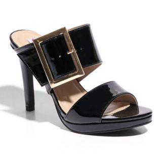 2 Lips Too Too Glaze Women's High Heel Mules