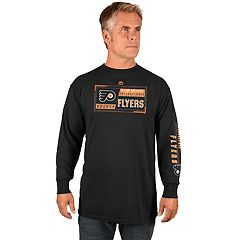 Men's Majestic Philadelphia Flyers Quick Whistle Tee