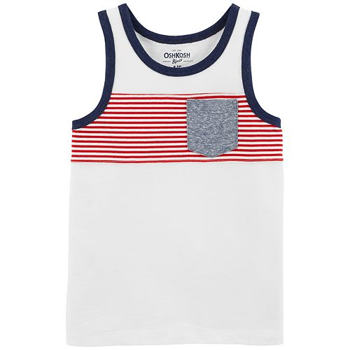 Boys 4-12 OshKosh B'gosh® Pocket Tank Top