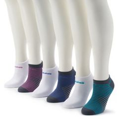 Women's adidas 6-Pack Superlite No-Show Socks