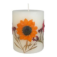 SONOMA Goods for Life™ Falling Leaves 4' x 3.25' Pillar Candle
