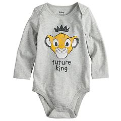 Disney's The Lion King Baby Boy 'Future King' Simba Bodysuit by Jumping Beans®