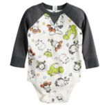 Disney/Pixar Toy Story Baby Boy Raglan Bodysuit by Jumping Beans®