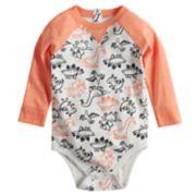 Baby Boy Jumping Beans® Graphic Raglan Bodysuit