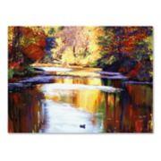 Trademark Fine Art Reflections Of August Canvas Wall Art