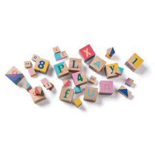 Manhattan Toy STEM Blox Wooden Block Set