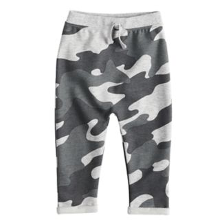 Baby Boy Jumping Beans® Camouflaged Knit Cuffed Pants