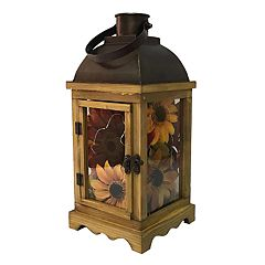SONOMA Goods for Life™ Artificial Sunflower Light-Up Lantern Table Decor