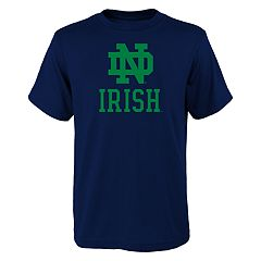 Boys 8-20 Notre Dame Fighting Irish Primary Logo Tee