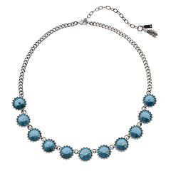 Simply Vera Vera Wang Blue Circle Link Necklace